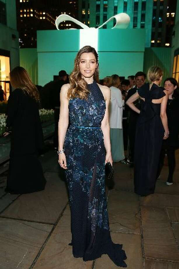 Jessica Biel attends the Ball.