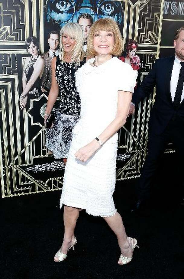 Vogue Editor Anna Wintour at the premiere.