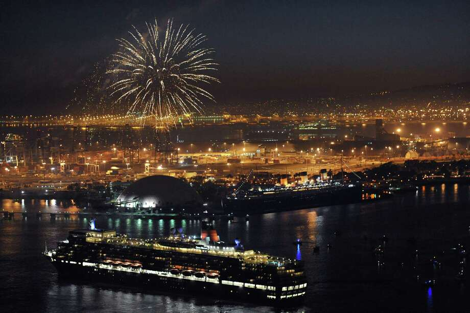 Second-lowest air fare: $234, Long Beach, Calif. Photo: John Shearer, Invision For Cunard / Invision