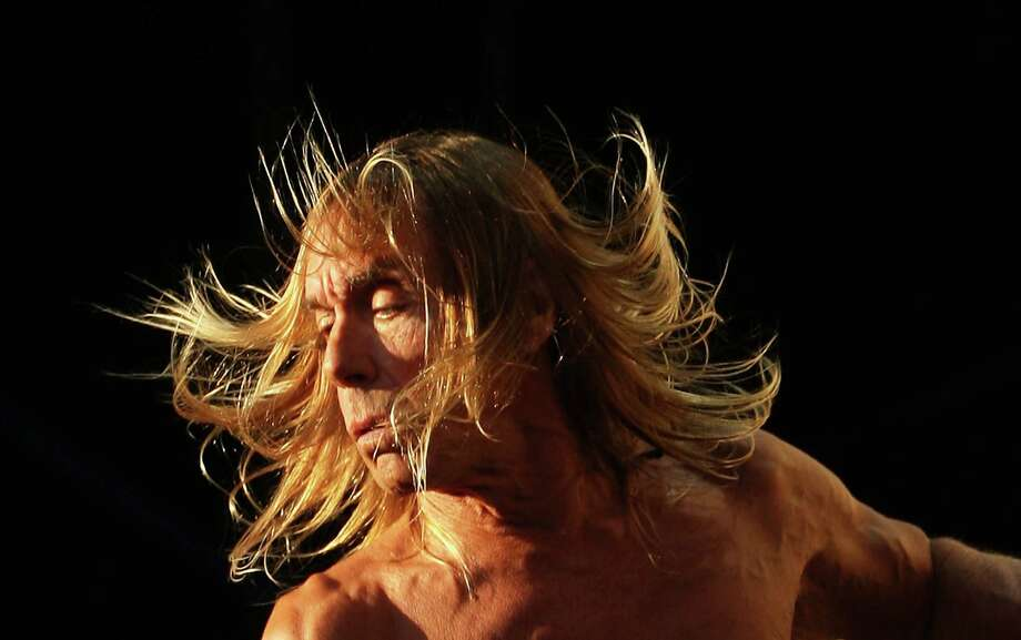Iggy Pop & The Stooges celebrate 40 years. Here is a look back at the punk icon. Photo: Mark Metcalfe, Getty / 2011 Getty Images
