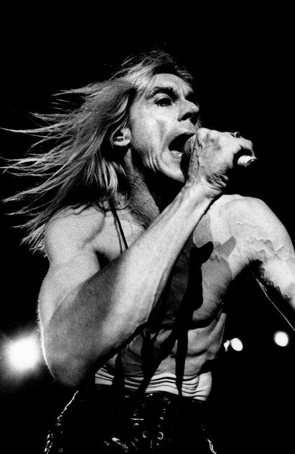 American singer Iggy Pop performs live on stage in the Netherlands in 1994. Photo: Michel Linssen, Getty / Redferns