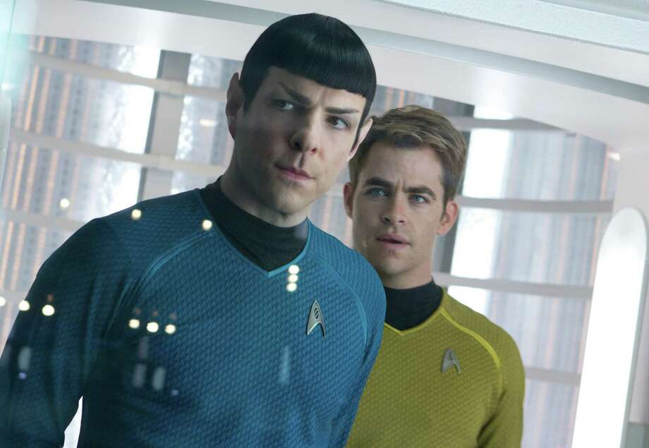 "Zachary Qunto, left, and Chris Pine star in ""Star Trek Into Darkness."" (Zade Rosenthal/Paramount Pictures/MCT) Photo: Zade Rosenthal, McClatchy-Tribune News Service / MCT"