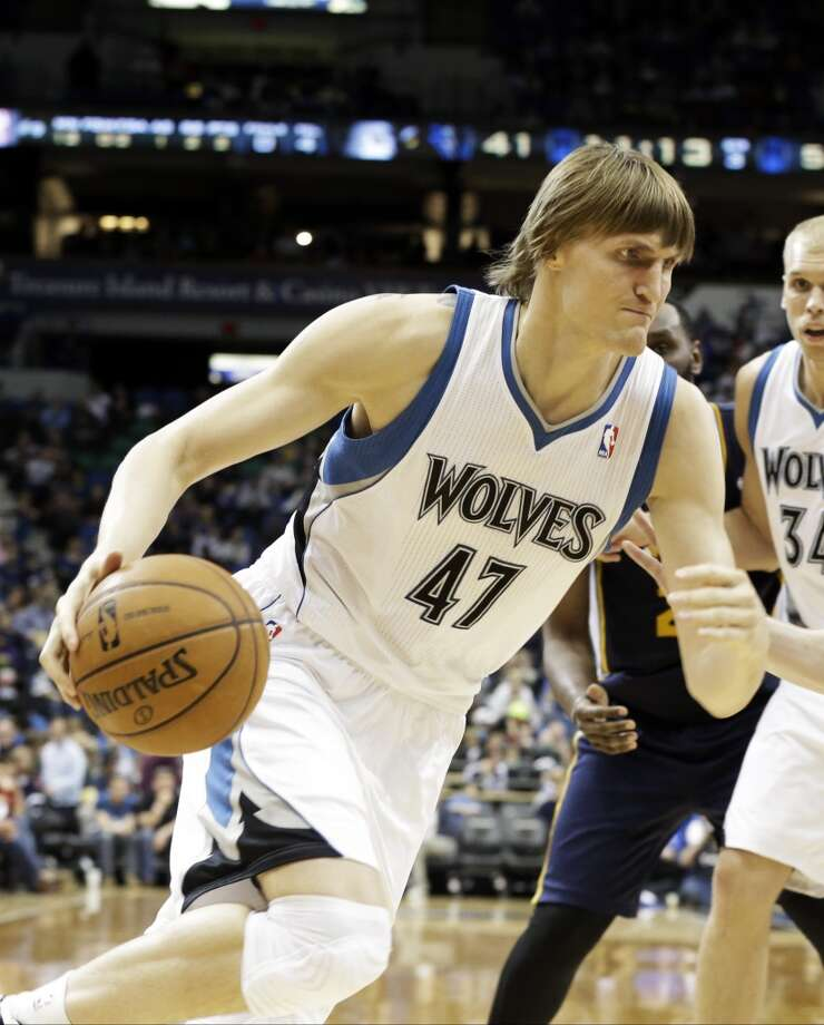 Andrei Kirilenko  Former team: Minnesota Timberwolves  New team: Brooklyn Nets Photo: Jim Mone, Associated Press