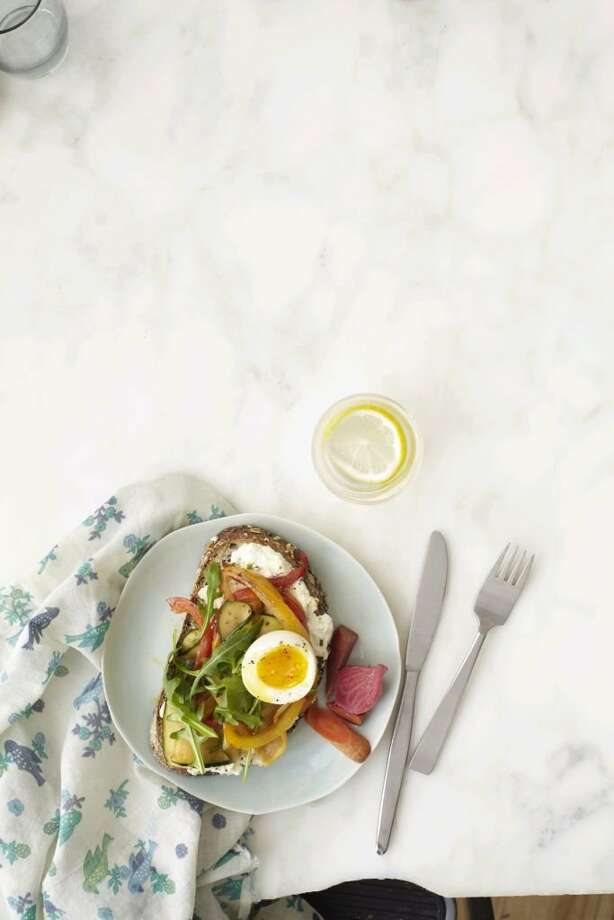 Redbook recipe for Ultimate Egg Sandwich. Photo: Raymond Hom