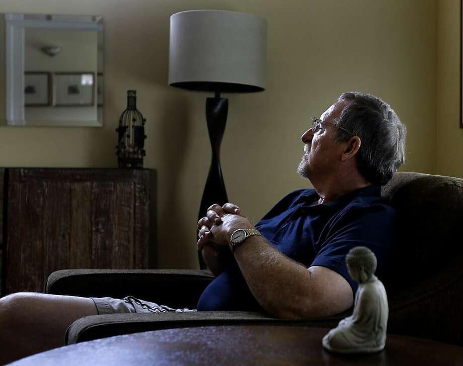 Fred Walsh hopes the genetic test will indicate whether his prostate cancer will spread. Photo: Brant Ward, The Chronicle
