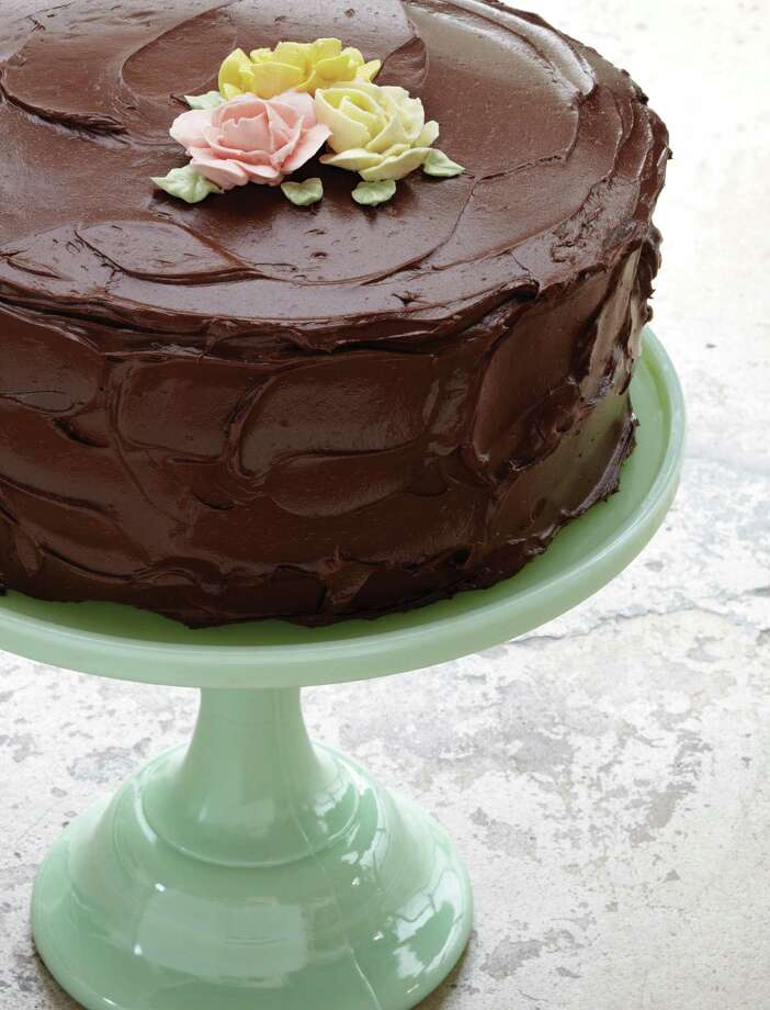 """Chocolate Heaven cake with chocolate buttercream frosting from """"The Back in the Day Bakery Cookbook"""" by Cheryl Day & Griffith Day (Artisan Books). Photo: Squire Fox / Squire Fox"""