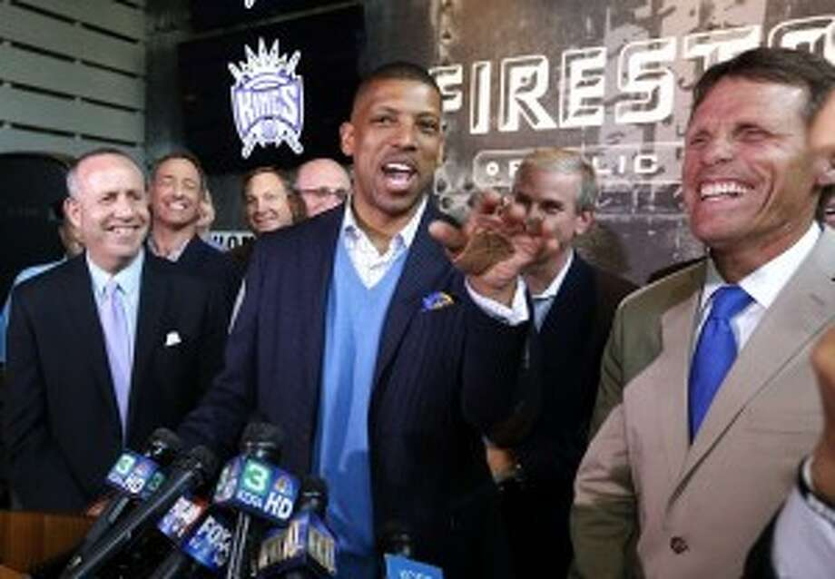 Sacramento Mayor Kevin Johnson. So we'd have a better shot at getting the Kings.