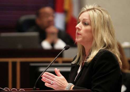 Assist. State Attorney Linda Drane Burdick presents the final portion of rebuttal at the Orange County Courthouse in Orlando, Fla. on Monday, July 4, 2011.  Anthony has plead not guilty to first-degree murder in the death of her daughter, Caylee, and could face the death penalty if convicted of that charge.  (AP Photo/Red Huber, Pool) Photo: Red Huber