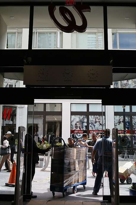 Walgreens' new San Francisco flagship store in Union Square goes beyond your typical drugstore. Photo: Liz Hafalia, The Chronicle