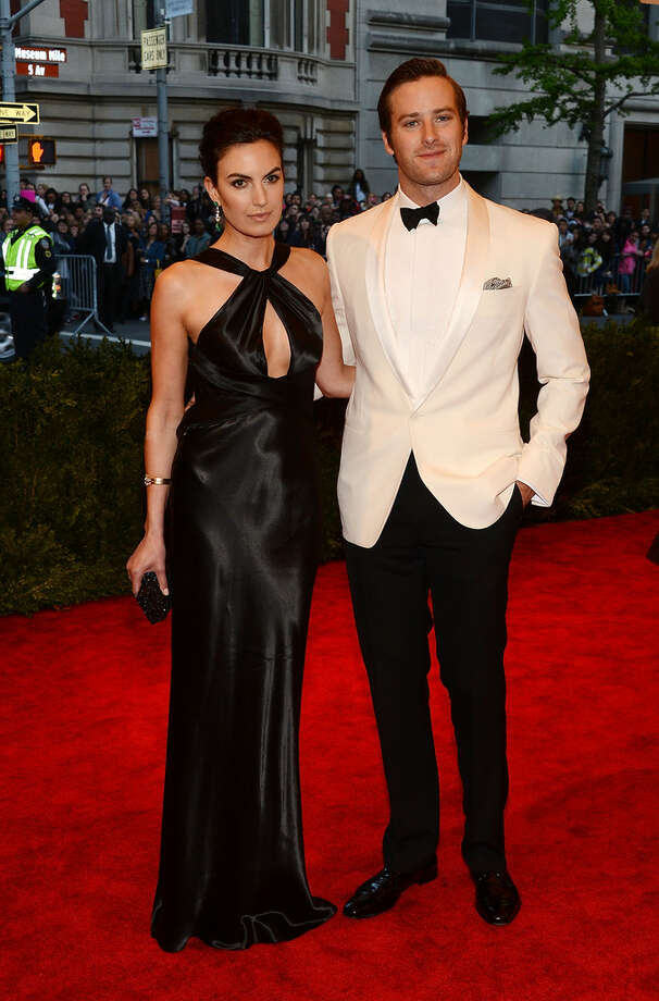 S.A.'s celebrity couple: Elizabeth Chambers and Armie Hammer