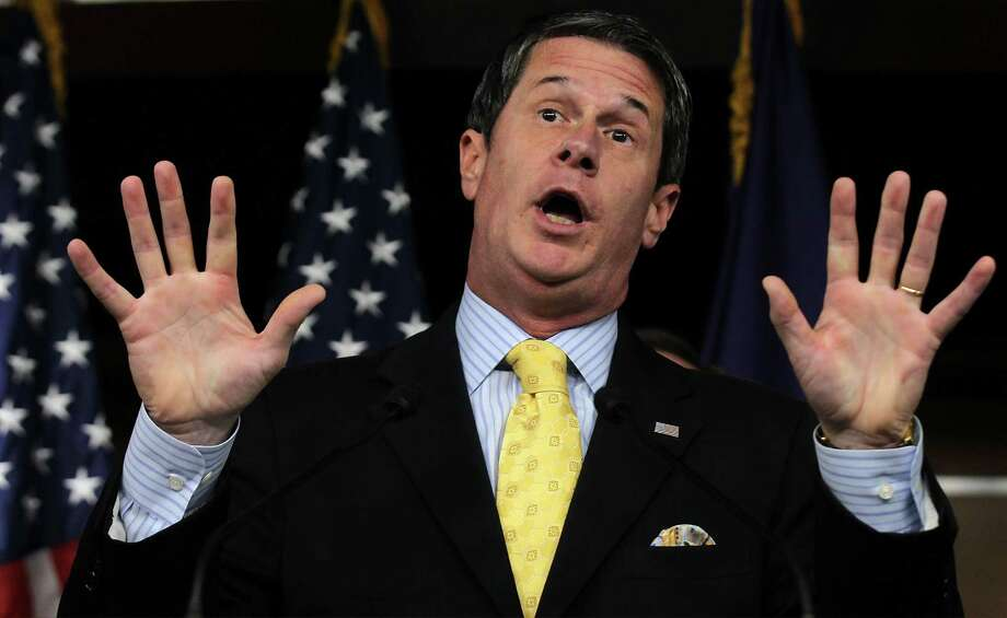Sen. David Vitter, R-La., showed up on the client list of a fancy brothel. He confessed to indiscretions, claimed faith had saved him, and was handily reelected by Louisiana voters in 2010. Photo: Alex Wong, Getty Images / 2011 Getty Images