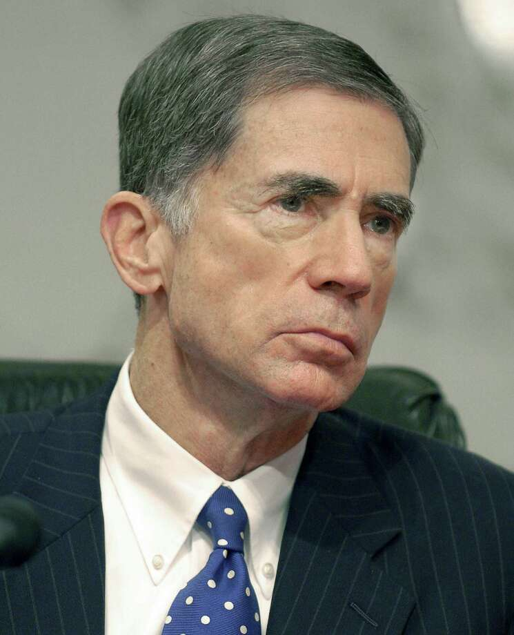 """Sen. Chuck Robb, D-Virginia, was seen as a future White House contender until news of the parties he attended and allegations of an affair with former beauty queen Tai Collins.  Robb denied an affair, claiming she just gave him a rubdown, eliciting newspaper headline:  """"She's Not My Tai -- Robb.""""  He lost 2000 reelection bid. Photo: MIKE THEILER, AFP/Getty Images / 2006 AFP"""