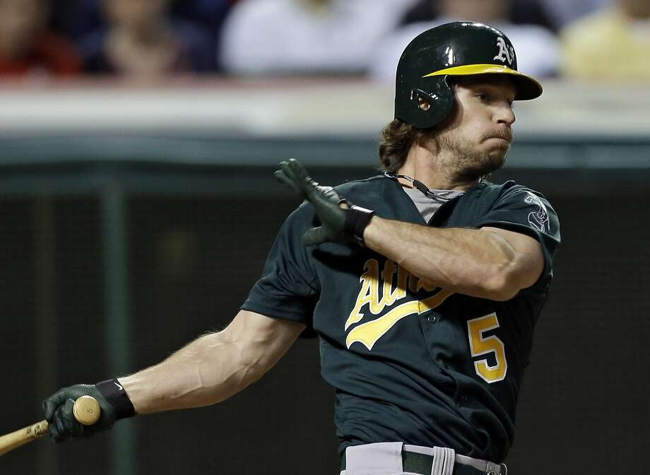 A's catcher John Jaso could earn up to $2.35 million in the 2014. Photo: Mark Duncan, Associated Press