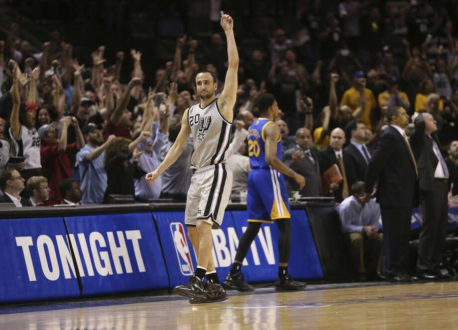"Gregg Popovich provided an apt summary of the Manu Ginobili Experience after Monday's Game 1 victory, during which the Argentine atoned for a bone-headed shot late in the second overtime by drilling the game-winning 3-pointer with 1.2 seconds left.  ""I went from trading him on the spot to wanting to cook him breakfast,"" Popovich said. ""When I talked to him ... he goes, 'This is what I do.' I stopped coaching him a long time ago.""  The alternation between stupefying and sublime is one of Ginobili's most defining characteristics. Here's a sampling of his playoff moments that have never been boring:   PHOTO: Ginobili reacts after hitting the go-ahead 3-pointer to win against the Warriors in Monday night's Game 1."