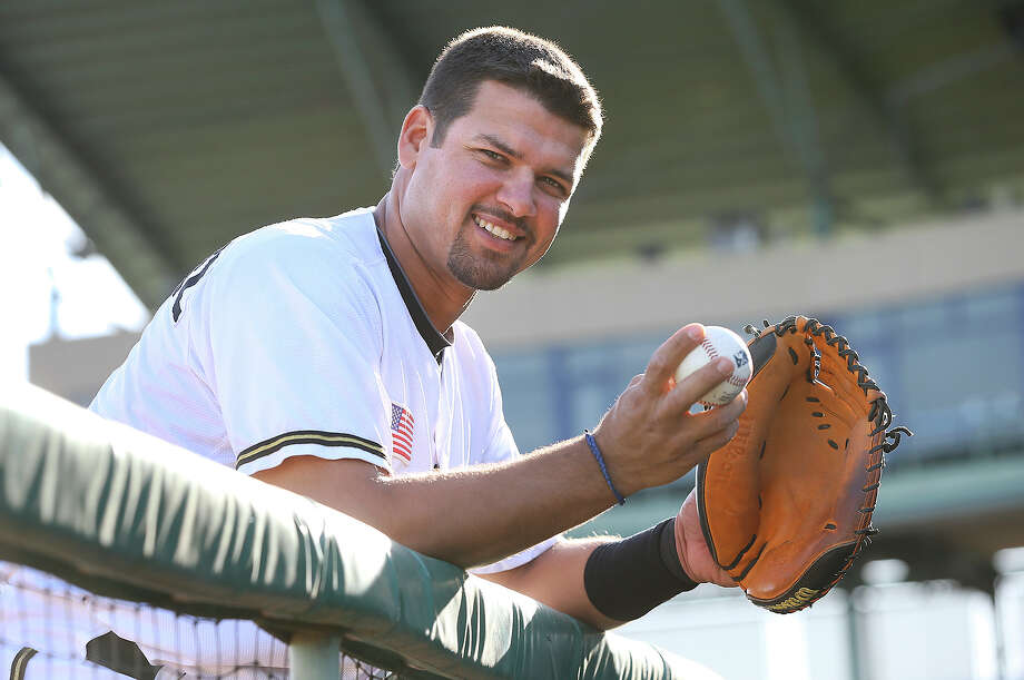 Missions catcher Eddy Rodriguez was 7 years old when his family survived a harrowing journey from Cuba to the U.S. Photo: Tom Reel, San Antonio Express-News