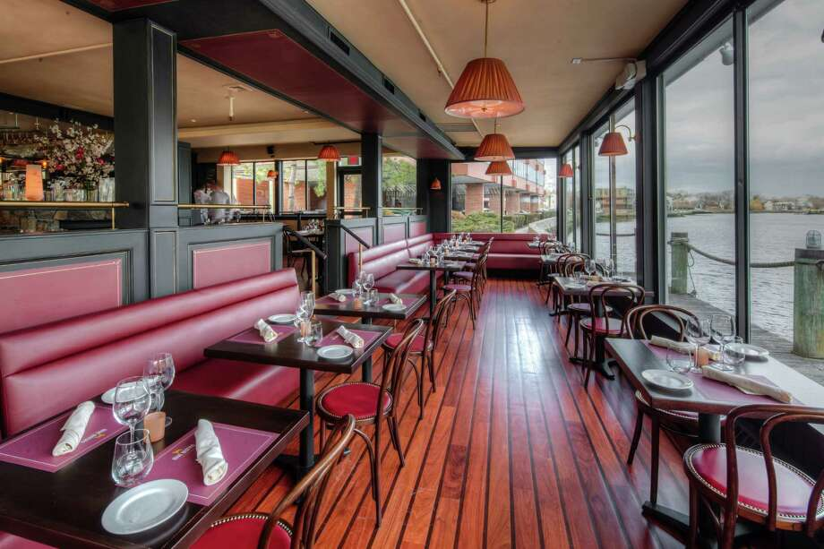 Diners at the new Rive restaurant in Westport have a waterfront view of the Saugatuck River. Photo: Contributed Photo / Westport News contributed