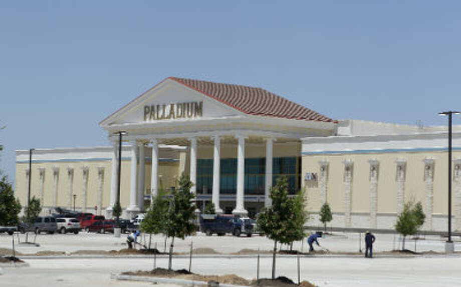 The Palladium encompasses 180,000 square feet.