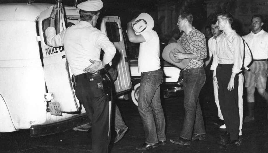 1961 Splash Day riots.