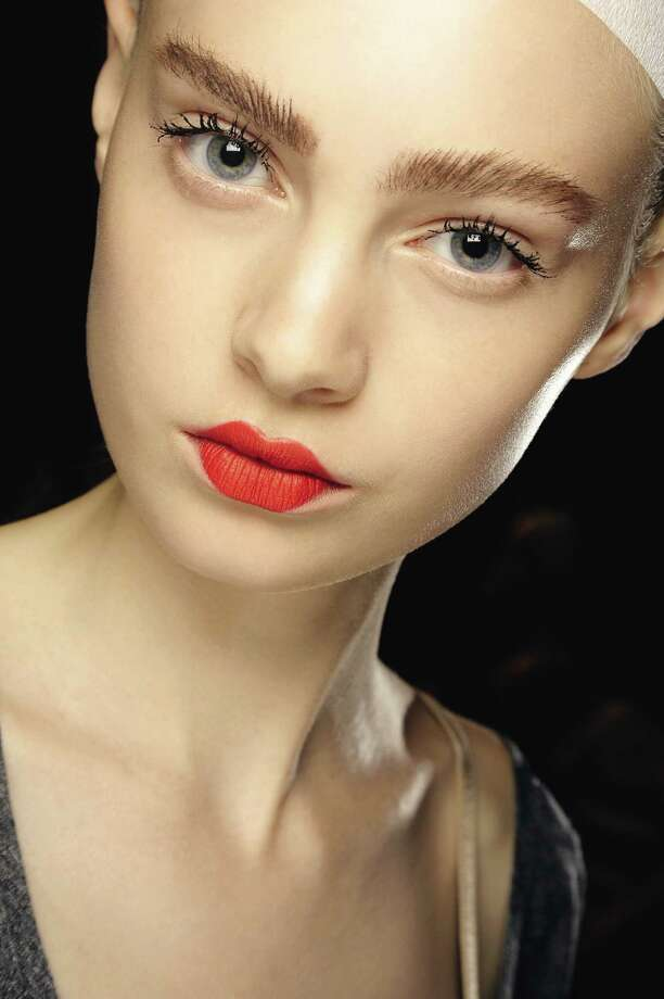 The bushy eyebrow has made a comeback. Photo: Photos Courtesy MAC Cosmetics