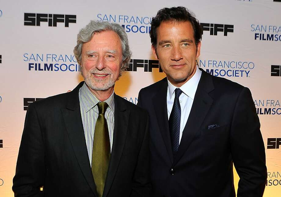 SAN FRANCISCO, CA - MAY 07: Philip Kaufman and Clive Owen (L-R) attend the 56th San Francisco Film Festival honoring Harrison Ford with the Peter J. Owens Award at Bimbo's 365 Club on May 7, 2013 in San Francisco, California. (Photo by Steve Jennings/WireImage) Photo: Steve Jennings, WireImage