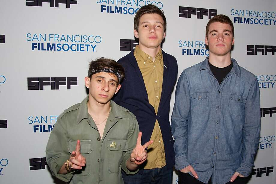 "SAN FRANCISCO, CA - APRIL 28:  Actors Moises Arias, Nick Robinson and Gabriel Basso arrive at ""The Kings of Summer"" premiere at Sundance Kabuki Cinemas on April 28, 2013 in San Francisco, California.  (Photo by Miikka Skaffari/FilmMagic) Photo: Miikka Skaffari, FilmMagic"