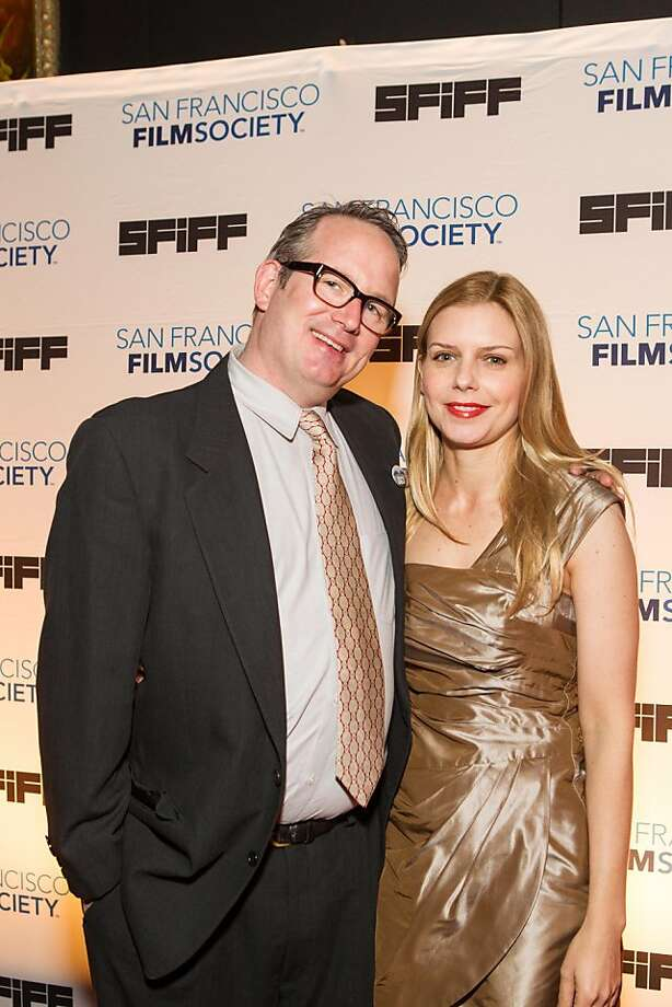 Ted Hope and Vanessa Hope at the San Francisco Film Society's Awards Night gala on May 07, 2013. Photo: Drew Altizer Photography, Claudine Gossett For Drew Altize