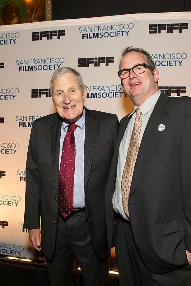 Ray Dolby and Ted Hope at the San Francisco Film Society's Awards Night gala on May 07, 2013. Photo: Drew Altizer Photography, Claudine Gossett For Drew Altize