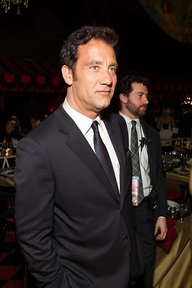 Clive Owen at the San Francisco Film Society's Awards Night gala on May 07, 2013. Photo: Drew Altizer Photography