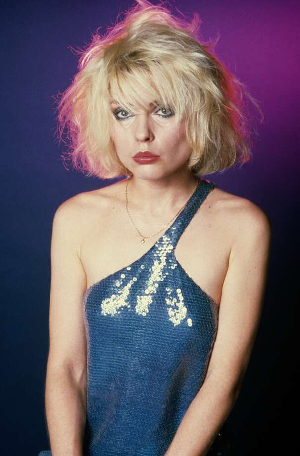 Singer Debbie Harry of American punk rock band Blondie, 1979. (Photo by Maureen Donaldson/Getty Images)