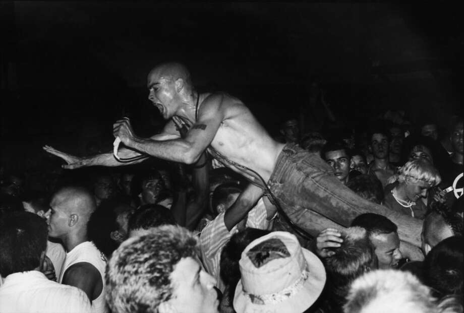Henry Rollins of Black Flag was the poster boy of hardcore punk. (AP Photo/HO/Courtesy of Sony Pictures Classics/Edward Colver)