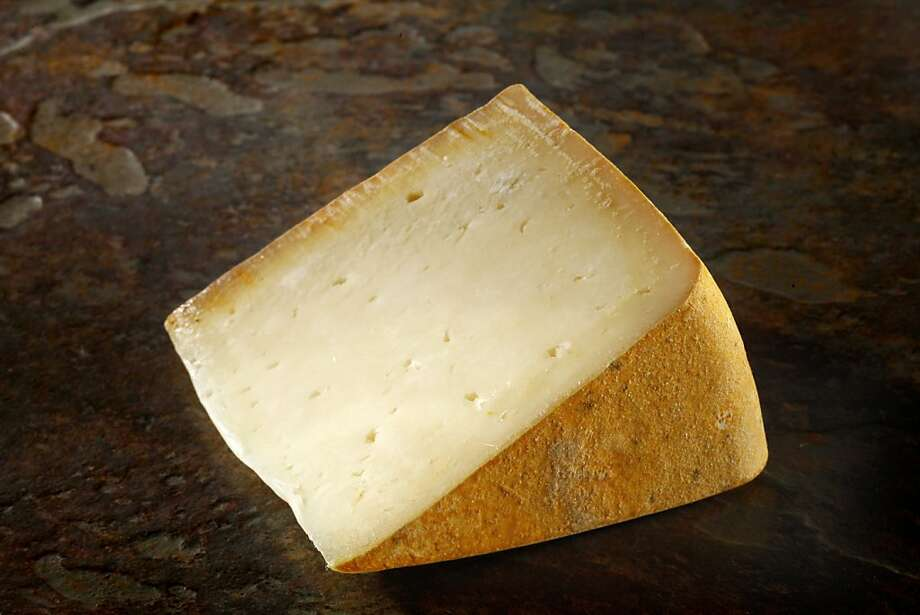Haystack Mountain makes a raw-milk goat cheese that comes close to the Spanish-style aged cheese. Photo: Craig Lee, Special To The Chronicle