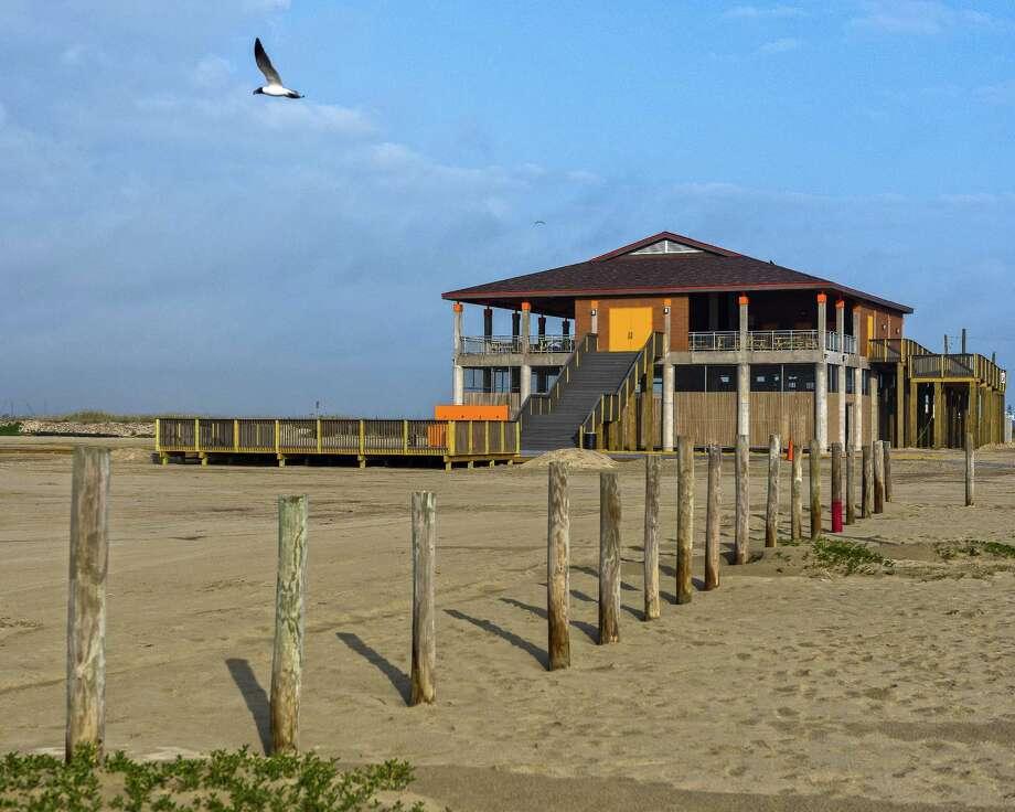 Galveston's new East Beach Pavilion Photo: Vadim Troshkin
