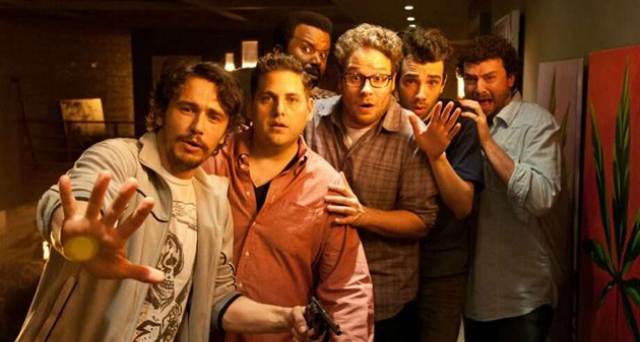 THIS IS THE END (June 12) - This is perhaps the point at which self-indulgence and genius merge. 'Superbad' collaborators Seth Rogen and Evan Goldberg now take on directing duties, too, in this tale where they play themselves attending a star-filled party at the home of James Franco (playing James Franco) when the untimely apocalypse begins. Among the other celebrities playing exaggerated versions of themselves: Jonah Hill, Danny McBride, Craig Robinson, Paul Rudd, Jason Segel, Mindy Kaling, Michael Cera, Christopher Mintz-Plasse, Jay Baruchel, Martin Starr, Aziz Ansari, Kevin hart and Rihanna.