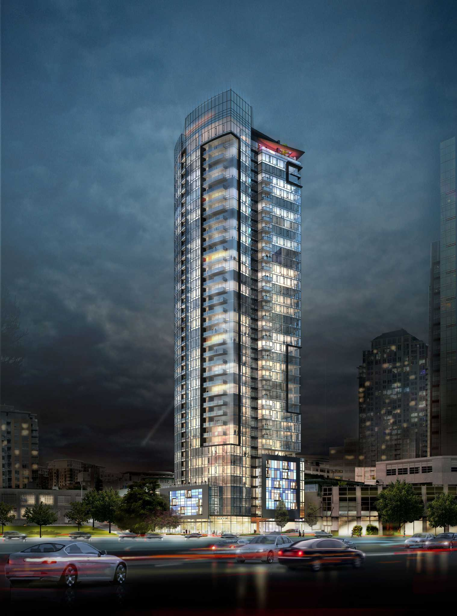 Construction starts on 41 story downtown apartment tower - Best apartments in seattle ...