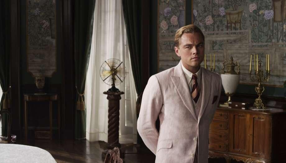 Leonard DiCaprio as Jay Gatsby.