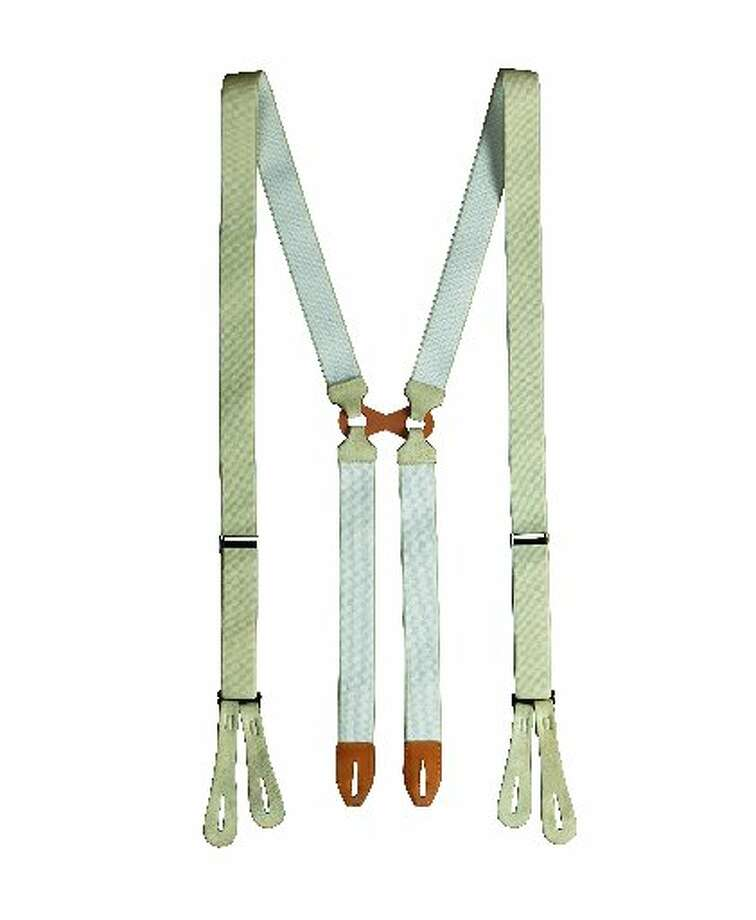 Suspenders from the new Gatsby collection. $128.00 at Brooks Brothers stores