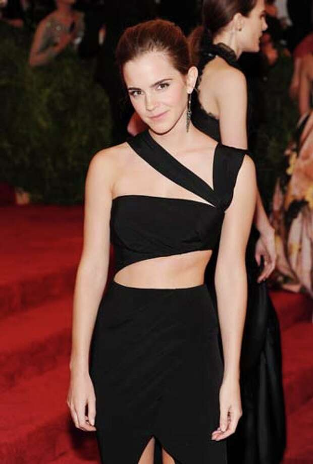 Emma Watson would like to show you bits and pieces of herself. Photo: Jamie McCarthy, Getty Images For The Huffington / 2013 Getty Images