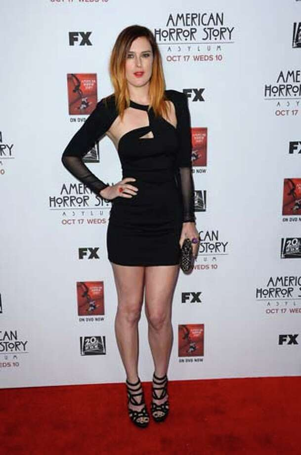 Rumer Willis isn't afraid of playing with scissors blind. Photo: Frazer Harrison, Getty Images / 2012 Getty Images