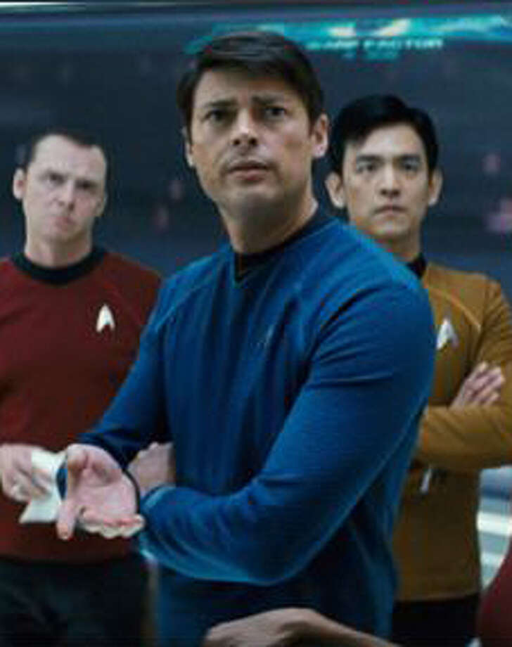 "Karl Urban is the new Dr. Leonard ""Bones"" McCoy. Photo: Paramount"