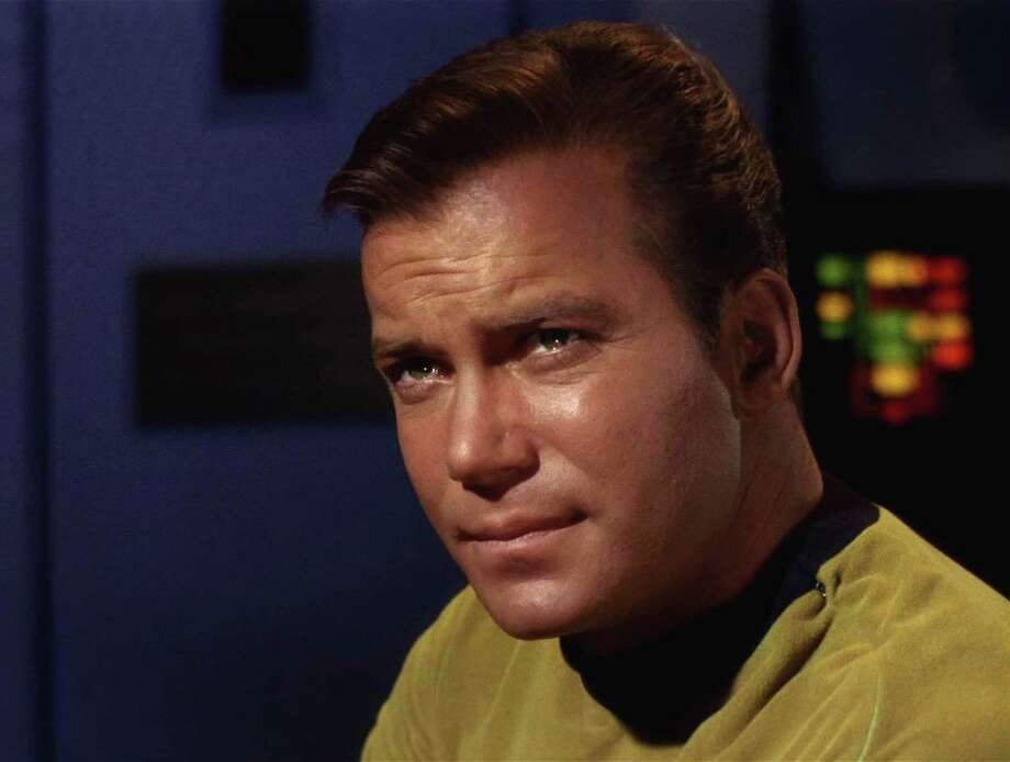 Before he caught bad guys as T.J. Hooker or declared war on high airfares for Priceline, William Shatner was the original Capt. Kirk. Photo: Frame Grab, CBS PARAMOUNT TELEVISION / 2008 CBS WORLDWIDE INC.