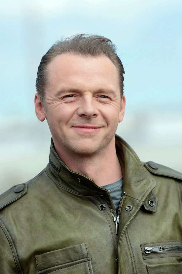 "Simon Pegg plays Chief Engineer Montgomery ""Scotty"" Scott in the new movies. Photo: Luca Teuchmann, WireImage / 2013 Luca Teuchmann"