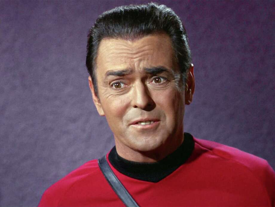 James Doohan was the first Scotty. Photo: CBS Photo Archive, CBS Via Getty Images / 1968 CBS Photo Archive