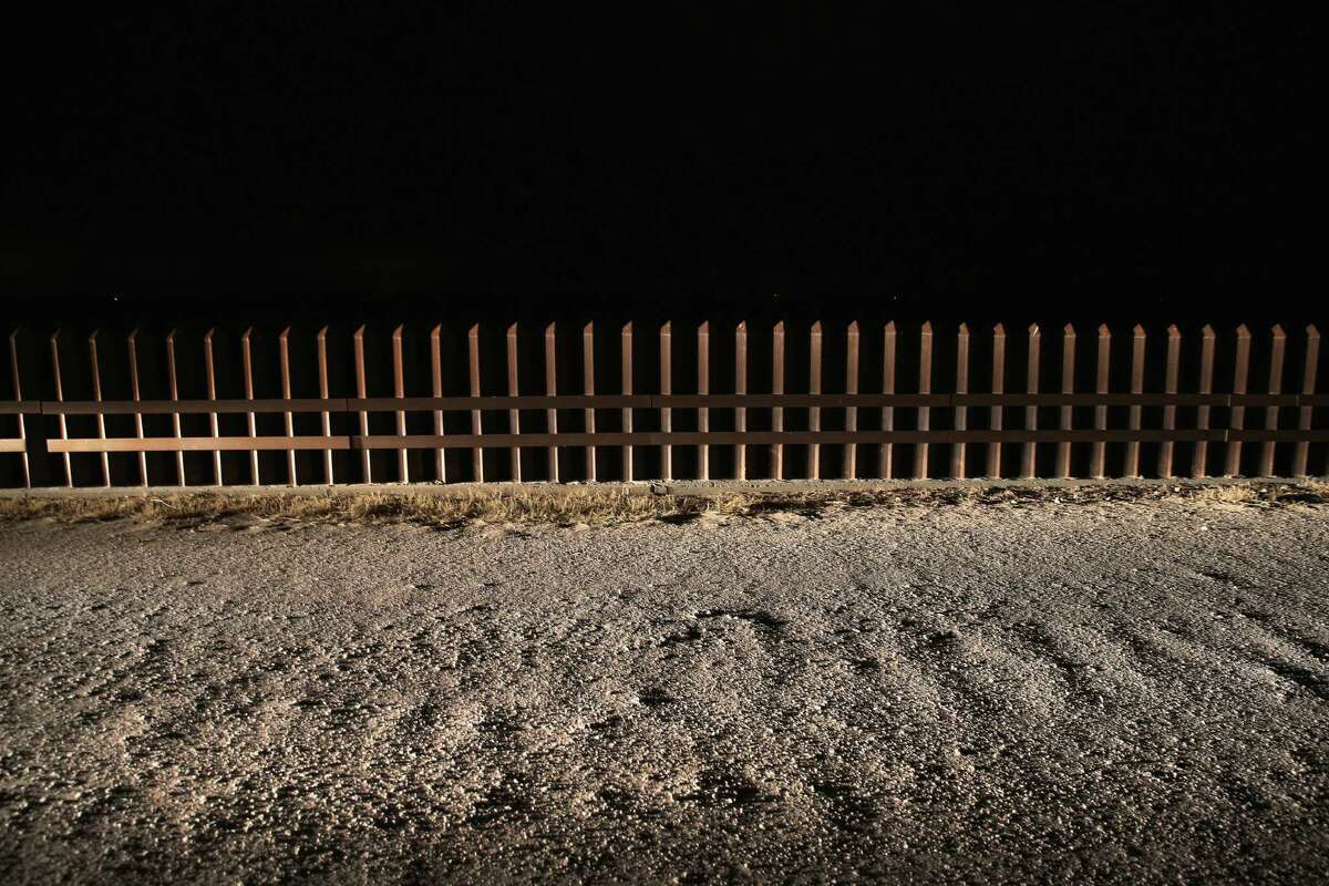 A section of the U.S.-Mexico border fence stands in La Joya. Conservatives want to control the wrong things about immigration.