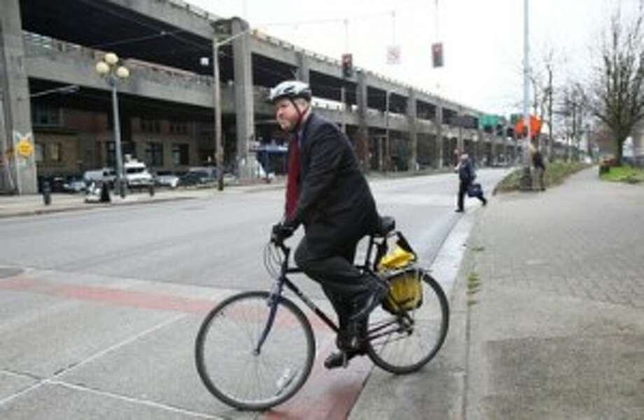 Mike McGinn. He could be the mayor of Mars and also keep the electricity on by pedaling the bike generators.