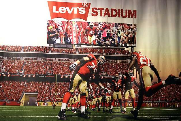 Niners' stadium will carry Levi's tag
