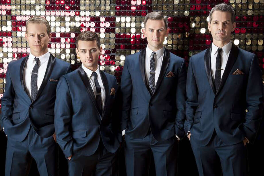 "Friday:The Midtown Men, made up of four of the original cast members of the Broadway smash hit ""Jersey Boys,"" performs at Stamford's Palace Theatre at 8 p.m. For more info, visit www.scalive.org. Photo: Contributed Photo"