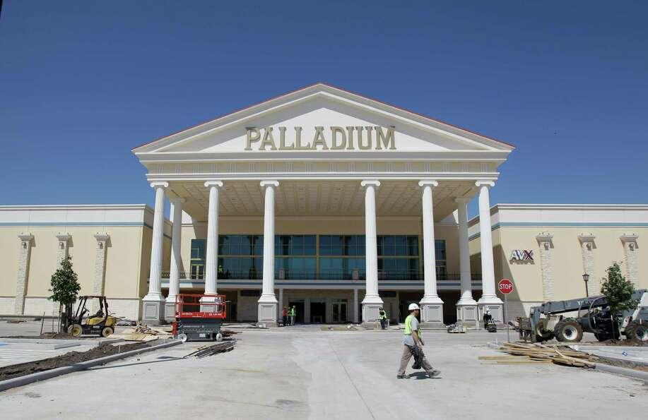 view of the new santikos palladium 301 grand parkway