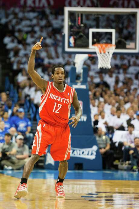 Patrick Beverley's eventful 2012-13 season began with a Russian team and ended with him starting for the Rockets. Photo: Smiley N. Pool, Staff / © 2013  Houston Chronicle