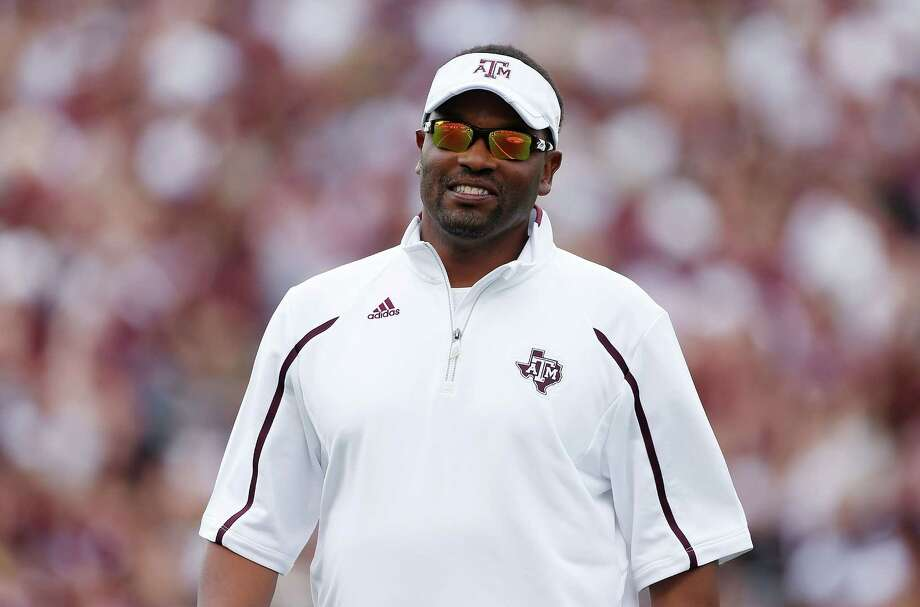 A&M's Kevin Sumlin will try to manage expectations. Photo: Scott Halleran, Staff / 2013 Getty Images