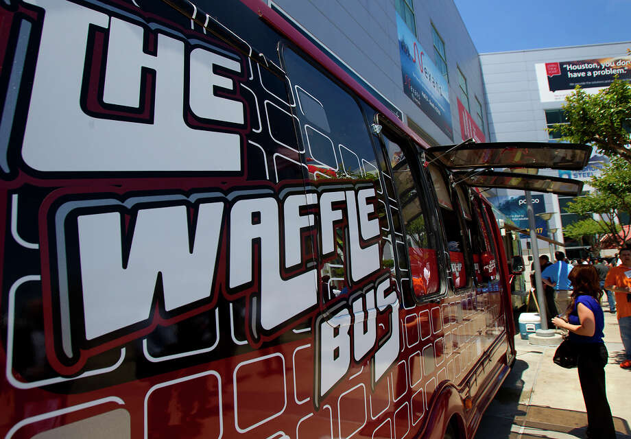 The Waffle BusCuisine: SouthernLocation: Locations vary. Check their website for upcoming stops.Website: thewafflebus.comKeep clicking to see a few of the acts and events scheduled to appear at Haute Wheels. Photo: Cody Duty, Staff / © 2013 Houston Chronicle